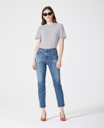b17f961710 THE ISABELLE - A ROOMER FIT ON THE HIPS WITH A TAPERED LEG. HIGH RISE
