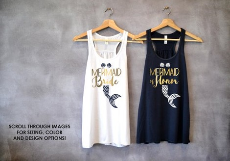 f6fb926cdce ... shirts are designed with the bridal party title printed in metallic  gold foil. We love how stylish they are! Order them online here. Check out  these ...