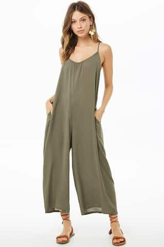 203d408117 Transitioning from summer to fall with jumpsuits - The Samantha Show ...