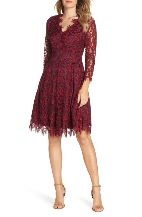 285cdb80716 Here are a few more dresses in Purple and for Fall Wedding Attire that we  think are great for an October wedding! The shop section uses affiliate  links.