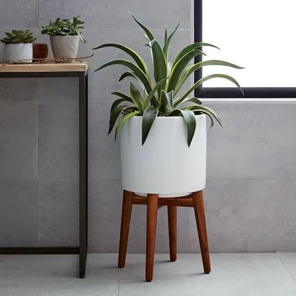 Click Below To Mid Century Modern Planter Set