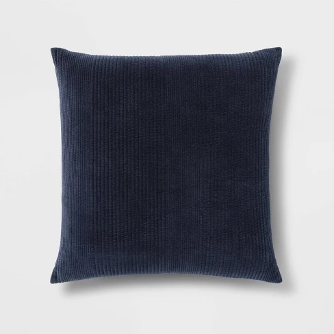 Faux Suede Oversize Square Throw Pillow Neutral Project 62