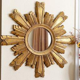 Tyler Sunburst Oversized Wall Mirror   Wayfair North America