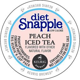 Snapple Diet Peach Iced Tea K-Cup Portion Pack | Overstock