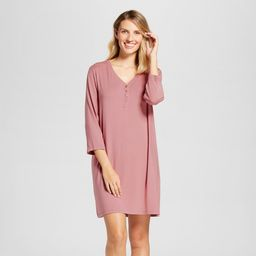 Women's Nightgowns Holiday Rose S, Pink   Target