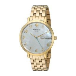 Kate Spade New York - Monterey - KSW1106 (White Mother-of-Pearl) Watches | Zappos