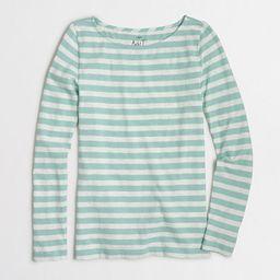 Striped long-sleeve artist T-shirt   J.Crew Factory