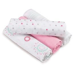 Aden by Aden + Anais Swaddle - Sweet in Pink - 4pk, Light Pink | Target