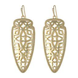 Kendra Scott - Sadie Earring (Gold) Earring | Zappos