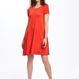 Old Navy Jersey Swing Dress For Women Size L Tall - Hot tamale | Old Navy US