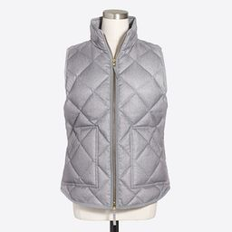 Textured quilted puffer vest | J.Crew Factory