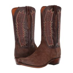 Lucchese - Harrison (Chocolate) Cowboy Boots | Zappos