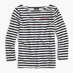"""Limited-edition National Stripes Day T-shirt in """"Let's Get Horizontal""""   J.Crew US"""