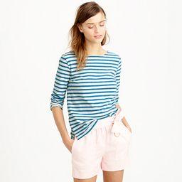 Striped boatneck T-shirt   J.Crew US