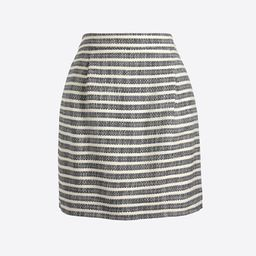 Striped mini skirt   J.Crew Factory