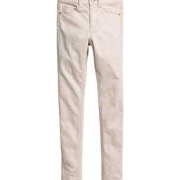 H&M - Slim-fit Pants - Light beige - Kids | H&M (US)