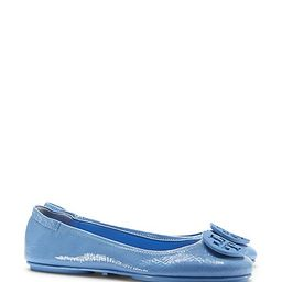 Tory Burch Minnie Travel Ballet Flats, Patent Leather | Tory Burch US