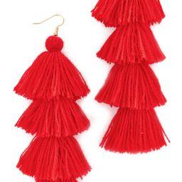 MISA Solid Tassel Earrings | Shopbop