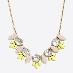 Crystal feather necklace | J.Crew Factory