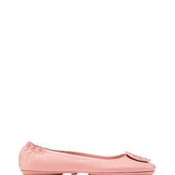 Tory Burch Minnie Travel Ballet With Logo | Tory Burch US