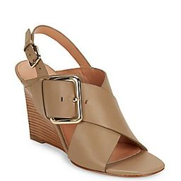 Xia Leather Wedge Sandals | Saks Fifth Avenue OFF 5TH