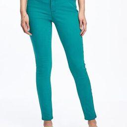 Old Navy Mid Rise Rockstar Pop Color Ankle Jeans For Women Size 0 Regular - Tattle teal | Old Navy US
