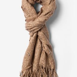 Tan Victoria Speckled Scarf by Scarves.com -  Tan/taupe Acrylic | Ties