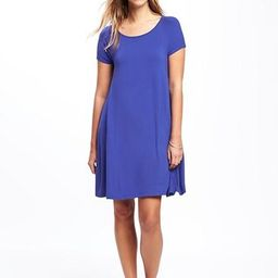 Old Navy Jersey Swing Dress For Women Size L Tall - Ultraviolet | Old Navy US