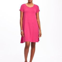 Old Navy Jersey Swing Dress For Women Size L Tall - Hijinks pinks | Old Navy US