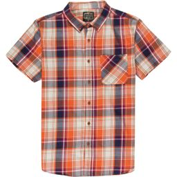 United by Blue Springer Plaid Shirt - Men's Orange/Blue, L | Backcountry.com