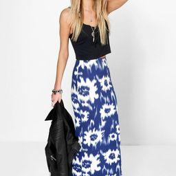 Lottie Tie Dye Maxi Skirt   Boohoo.com (US & CA)