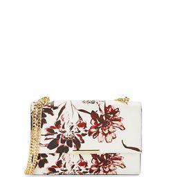 IVANKA TRUMP Mara Floral Leather Shoulder Bag | Lord & Taylor