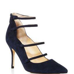 IVANKA TRUMP Dritz Suede Strappy Pointed Toe Mary Jane Pumps - 100% Bloomingdale's Exclusive   Bloomingdale's (US)
