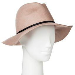 Women's Felt Rancher Hat Blush- Merona™ | Target