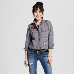 Women's Utility Jacket with Patches - Mossimo Supply Co.™ | Target