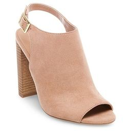 Women's Bria Peep Toe Heeled Sandals - Merona™ | Target