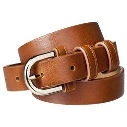 Women's Modern Dress Belt - Brown - Merona™ | Target