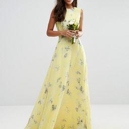 ASOS TALL Wedding Maxi Dress in Sunshine Floral Print | ASOS UK