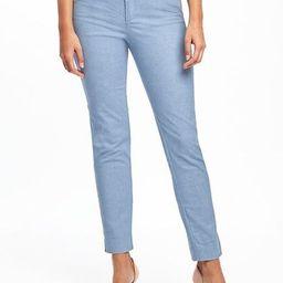Mid-Rise Linen-Blend Pixie Pants for Women | Old Navy US