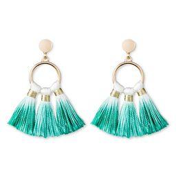 SUGARFIX by BaubleBar™ Ombré Tassel Drop Earrings | Target