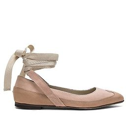 Free People Pressley Wrap Flat in Pink   Revolve Clothing