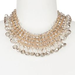 Natasha Accessories Beaded Choker Necklace   Dillards Inc.