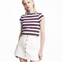 H&M Short Jersey Top $12.99 | H&M (US)