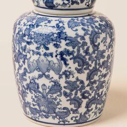 Large Floral Ginger Jar | Francesca's Collections