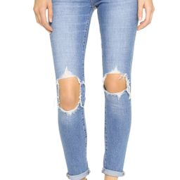 721 High Rise Distressed Skinny Jeans   Shopbop