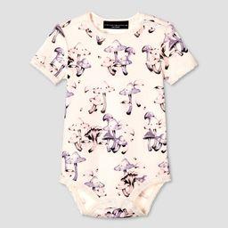 Baby Mushroom Print Short Sleeve Bodysuit - Victoria Beckham for Target   Target