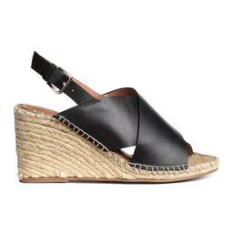 H&M Wedge-heel Sandals $39.99 | H&M (US)