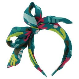 Girls' Simple Shape Print Bow Headband - Cat & Jack™ | Target