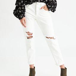 AEO Denim X Tomgirl Jean, Gleam White | American Eagle Outfitters (US & CA)