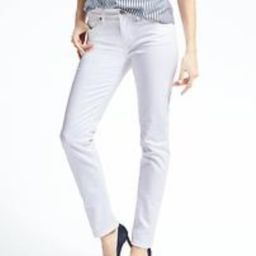 Stay White Slim-Straight Jean | Banana Republic US